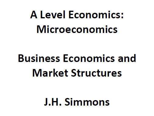 Microeconomics: Business Economics and Market Structures