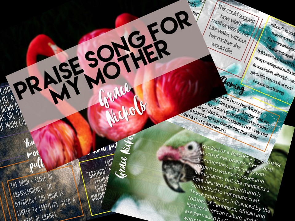 Praise Song for My Mother (Grace Nichols) PPT Presentation and First Reading
