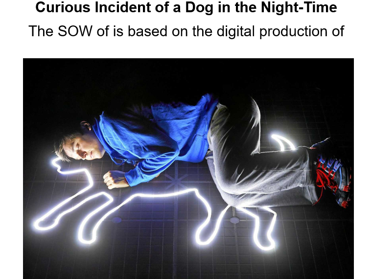 Curious Incident of a Dog in the Nighttime GCSE Drama SOW Live Theatre Review