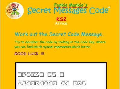 Secret Message Code - Activity