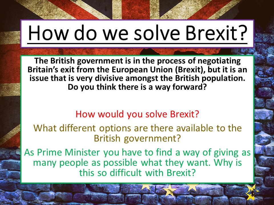 Brexit English