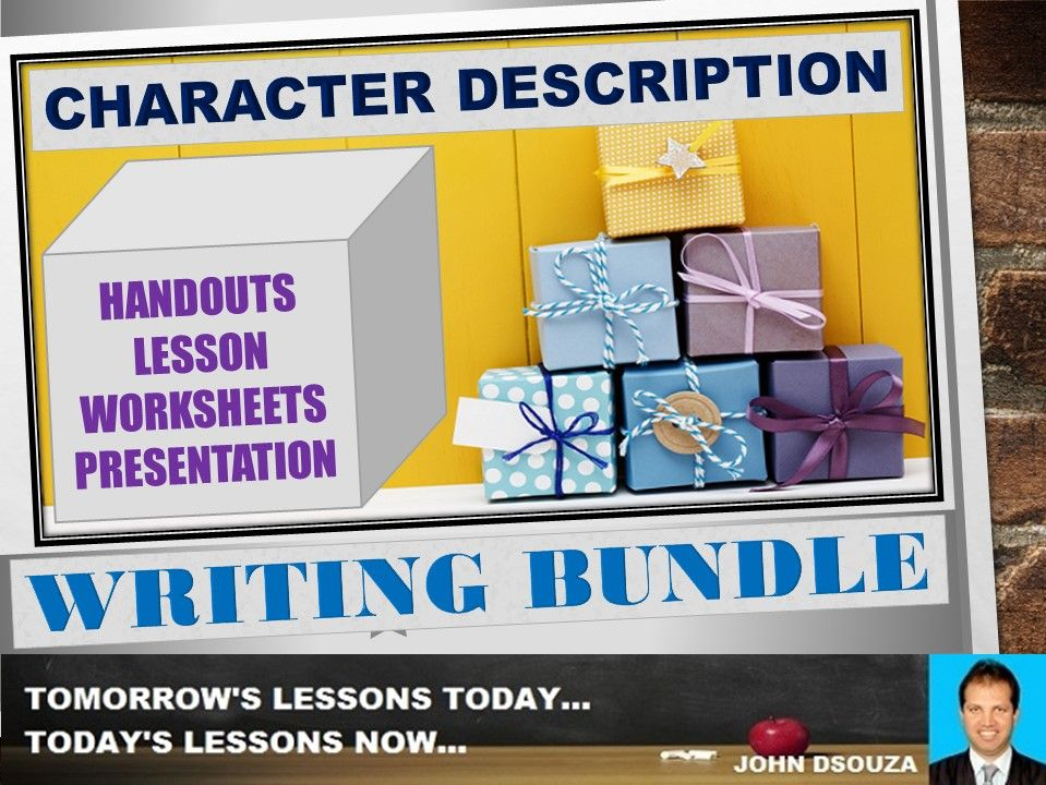 CHARACTER DESCRIPTION: BUNDLE