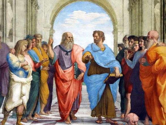 Presentation on Plato & Aristotle (A Level OCR Religious Studies)