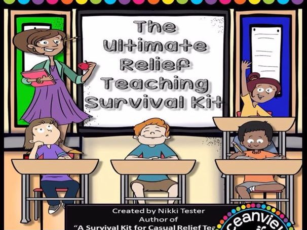 Relief Teaching Survival Kit' - Great for Supply and New Teachers (Australia)