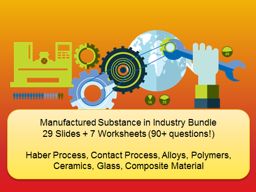 Manufacturing Industry Bundle (29 Slides + 7 Worksheets with over 90+ Questions!)
