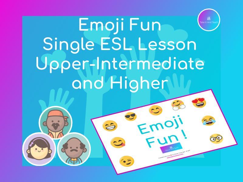 Emoji Fun | ESL Single Lesson