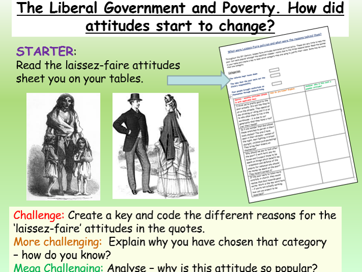Poverty and Liberal Government