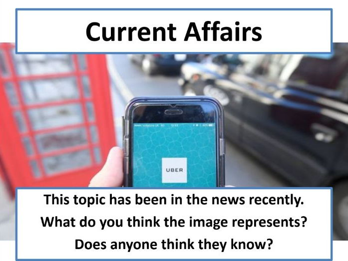 Current Affairs Form Time Activity - Uber Ban
