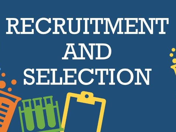 recruitment and Selection GCSE Revision