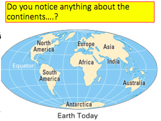Tectonics KS3: Continental Drift Geog