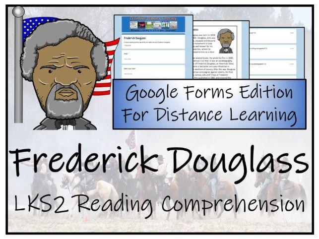 LKS2 Frederick Douglass Reading Comprehension Activity | Digital & Print