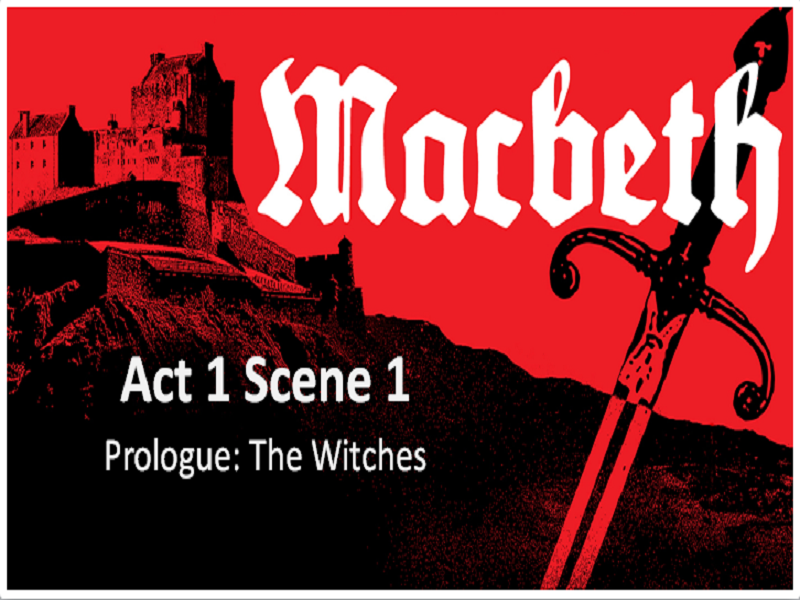 MACBETH - Act 1 Scene 1 - Full Lesson