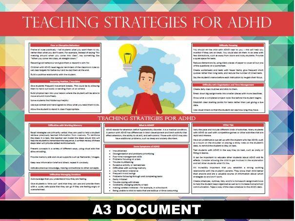 Teaching Strategies for ADHD