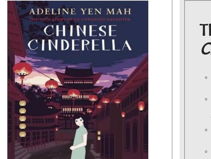 KS3 Chinese Cinderella Novel Study SoW