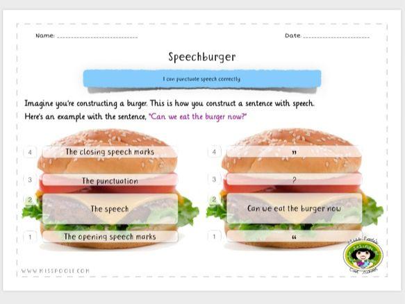 Speechburger (Speech Marks Inverted Commas)