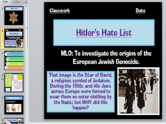 Holocaust Introduction