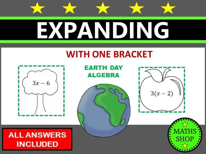 Earth Day Maths Algebra