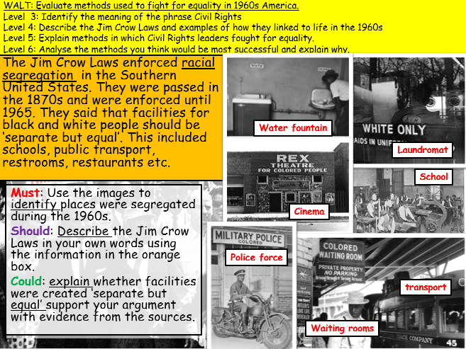 Introduction to the Civil Rights Movement (KS3)