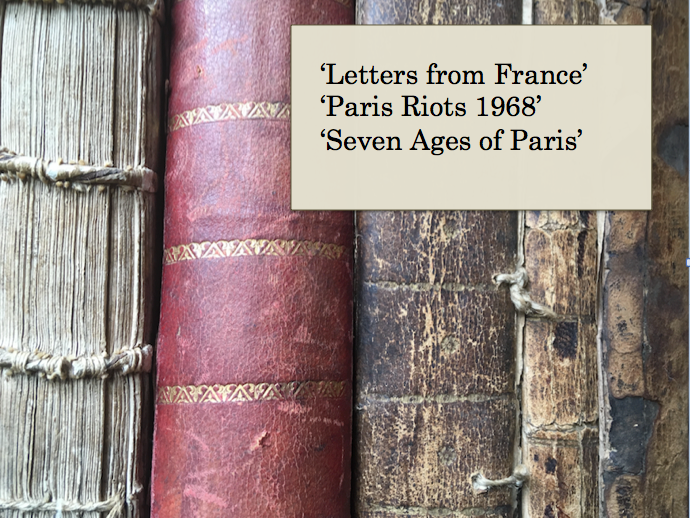 AQA Paris Anthology for English Language and Lit:  Analysing Three Historical Texts in the Anthology