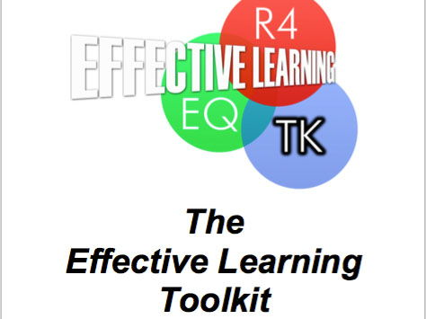 The Effective Learning Toolkit - 9 tools to improve learning