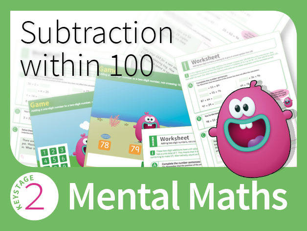 Mastering Mental Subtraction - Subtraction within 100