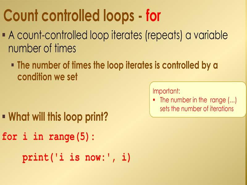 Python programming Loops part 1 - worksheets & solutions