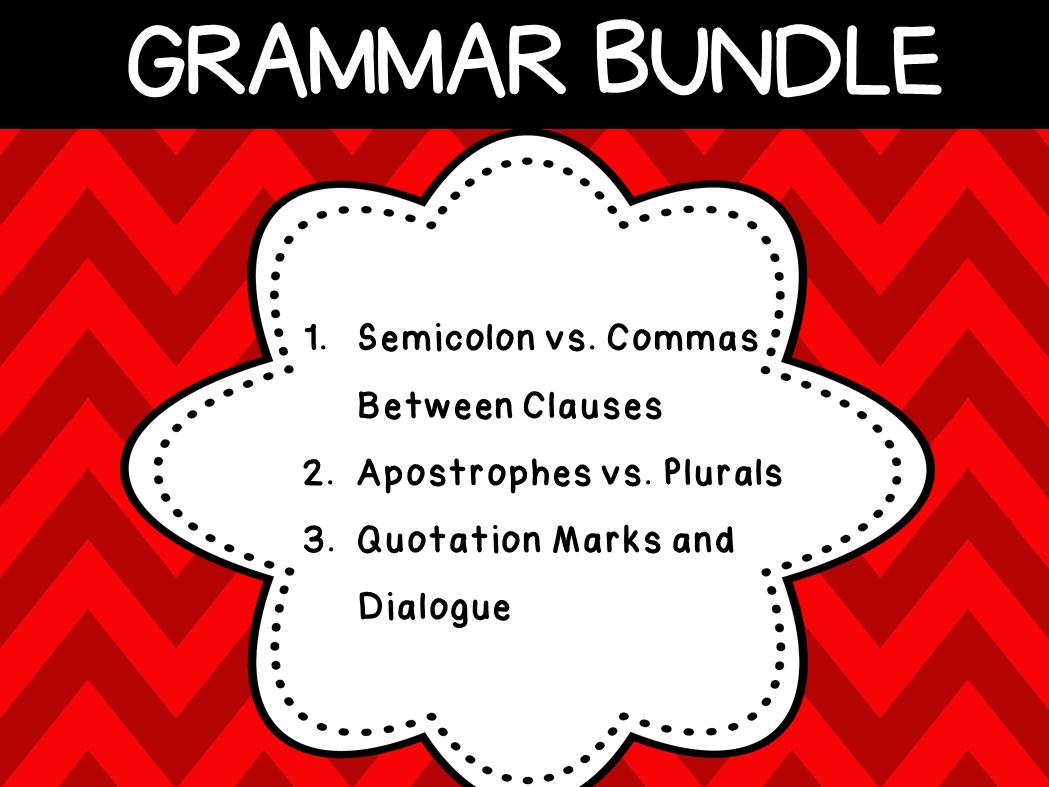 English Grammar (3 resources)