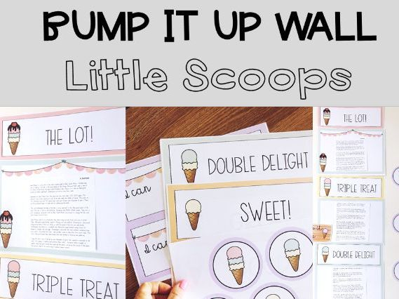 Bump It Up Wall - Little Scoops Icecream