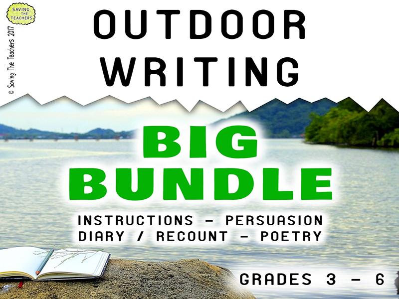 Outdoor Writing Big Bundle