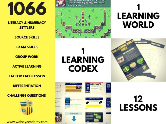 1066 LEARNING WORLD CODEX - Wolsey Academy