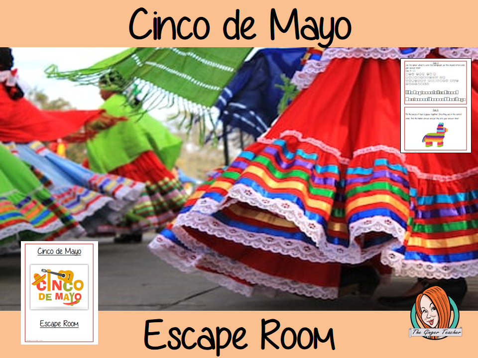 Cinco de Mayo Escape Room Game
