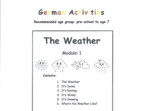 The Weather - GERMAN (Module 1)
