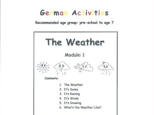 The Weather - GERMAN (Module 1)
