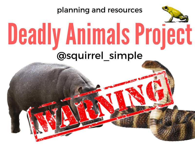 Steve Backshall's Deadly Animals Project Year 2