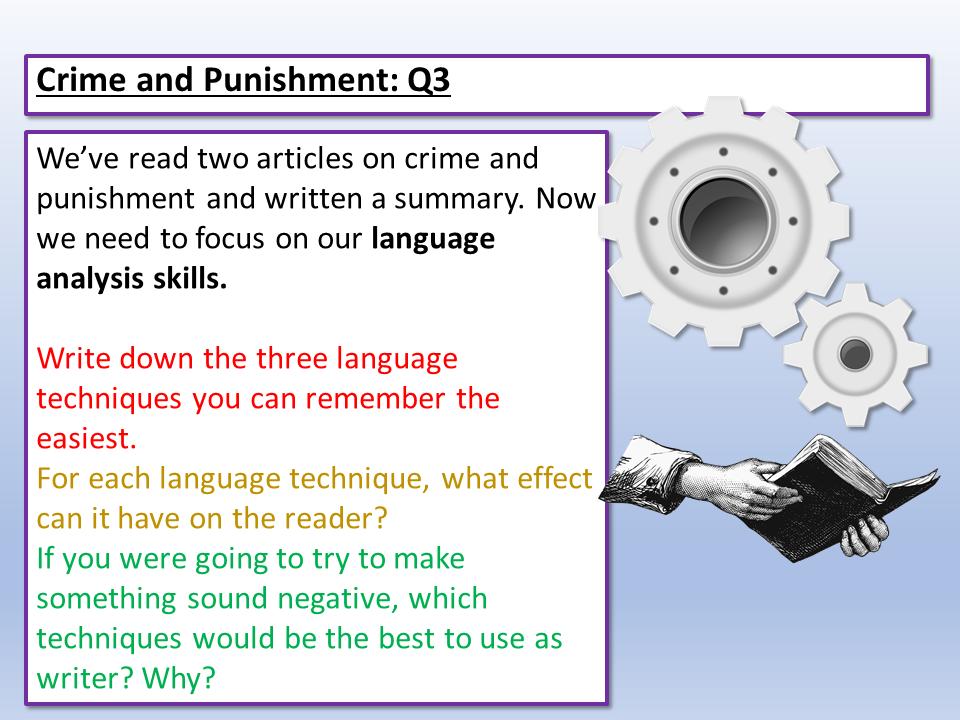 Language Paper 2 - Q3 Language Analysis
