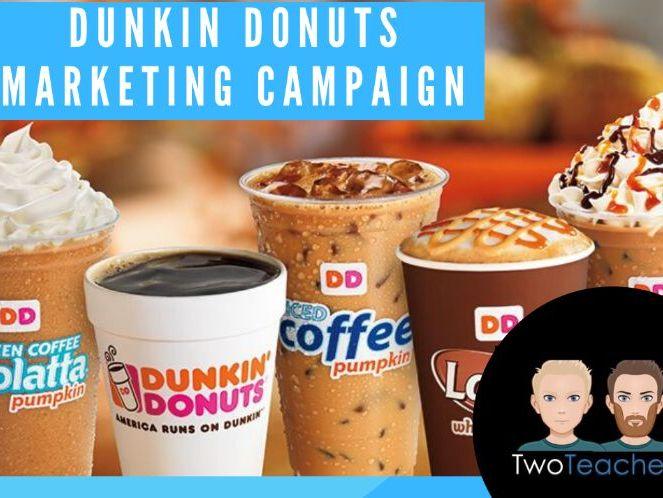 Marketing Campaign Activity: Dunkin Donuts Flavor Radio Marketing Campaign