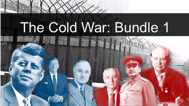 The Cold War (Edexcel) 2018 spec - Bundle 1