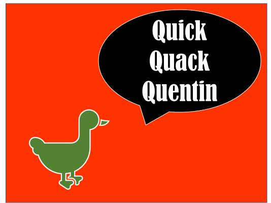 Quick Quack Quentin Resource Bundle
