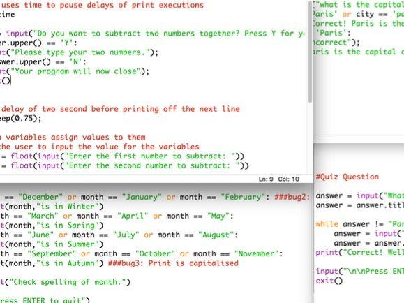 Python Programs Examples