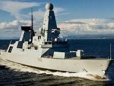 HMS Daring presentation