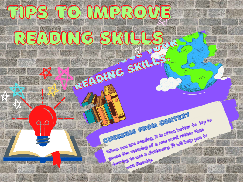 Tips to improve reading skills in English