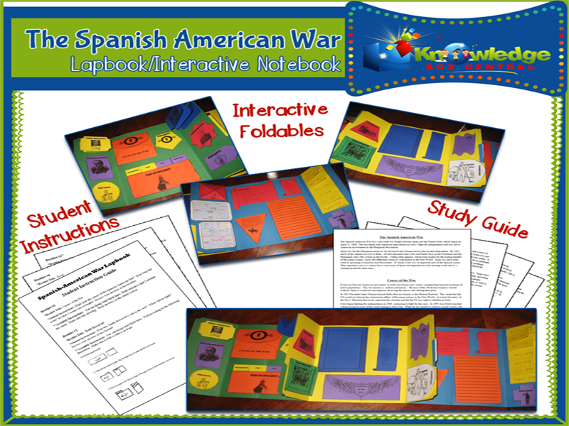 The Spanish-American War Lapbook