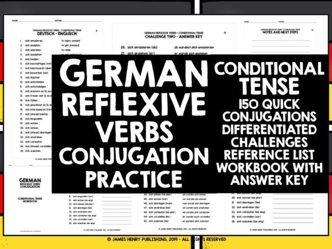 GERMAN REFLEXIVE VERBS CONJUGATION 5