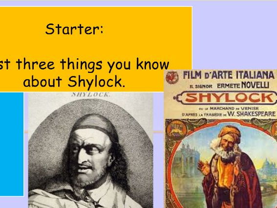 The Merchant of Venice Shylock Analysis