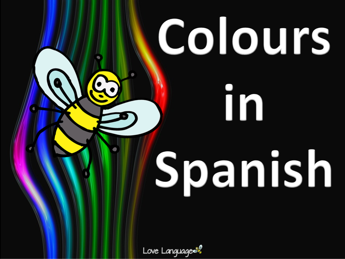 Colours in Spanish Bundle