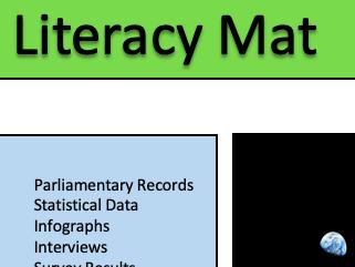 Global Politics Literacy Mat