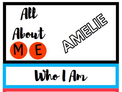Who Am I? Flip Book (New Class Activity)
