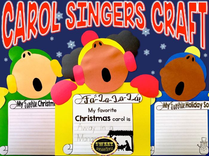 Carol Singers Craft