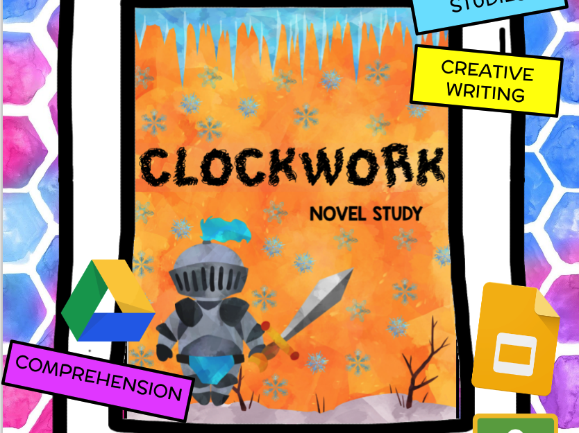 Clockwork (All Wound Up) Novel Study