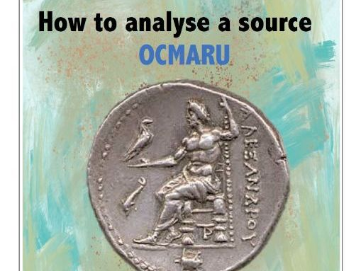 How to analyse a source